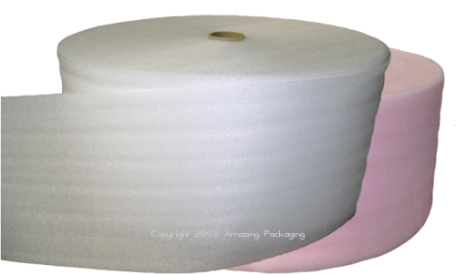 Cushion Foam Rolls - Both White and Pink