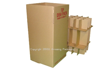 Dishpack Box With Partitions