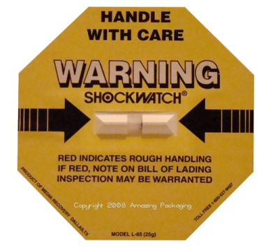 Shock Watch Label - L65
