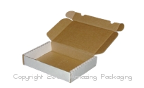 Economical Mailer With Dust Flaps